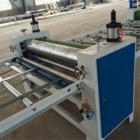 亚克力板贴面机 中纤板密度板涂胶贴纸机 金翔机械厂家直销