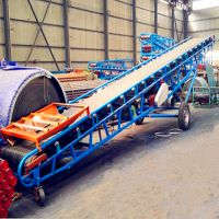复合肥装卸输送机 兴运定做不同规格皮带输送机