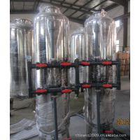 厂家定做不锈钢机械过滤器壳体,配U-PVC管路,卫生级石英砂过滤器