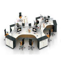 朗哥家具 职员桌 办公卡位 屏风办公桌 办公家具厂家直销44