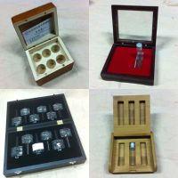 东莞市精油盒厂家定制圆形25格高档木质烤漆精油木盒包装盒