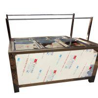多功能六盒油皮机哪里好 商用蒸汽式豆皮机多少钱 专业生产腐竹机