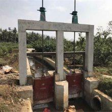 宇东水利供应1.0×1.0m潜孔式铸铁闸门 水头4.5米 动水启闭 价格