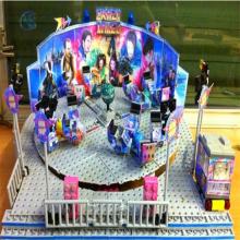 老少都能玩的游乐场设备霹雳转盘旋转升降机械类游艺设施