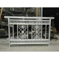 大连铝艺护栏 阳台围栏 大连别墅护栏 定制铝合金等金属制品