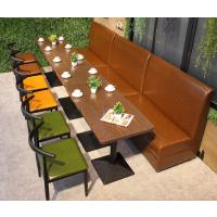 倍斯特定制简约现代风格中餐厅耐高温防水防火餐桌休闲咖啡奶茶餐桌