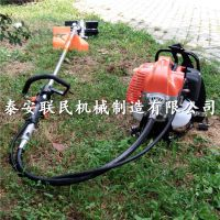 茶园果园背负式除草机 小地块专用汽油旋耕锄地机