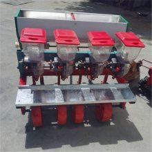 拖拉机四行谷子精播机 手动蔬菜精量播种机 启航六行四行谷子播种机