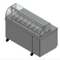 蔬菜沙拉柜|菜品展示柜|商用沙拉冷藏柜厂家