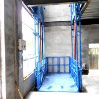 导轨式升降机大吨位液压货梯 升降货梯 厂房货梯 仓库货梯厂家制定