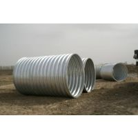 衡水金属波纹涵管 钢波纹管涵价格