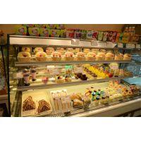 供应 立式弧形敞开式蛋糕柜保鲜柜,全进口压缩机制冷保温效果极佳