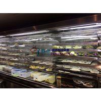 巴奴火锅喷雾保鲜柜,安庆风冷多层菜品自选柜,徽点自助烤肉店展示柜