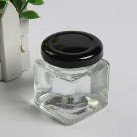 厂家直销200ml方形蜂蜜玻璃瓶,玻璃蜂蜜瓶生产商