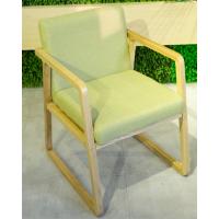 倍斯特简约现代实木餐椅主题中餐厅休闲咖啡奶茶扶手椅厂家定做