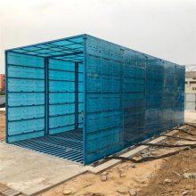 郑州6米长龙门式工地洗车机NRJ-11工作原理