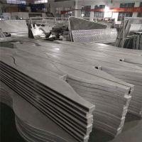 背景墙弧形铝板 仿实木包柱铝板 外墙板氟碳烤漆