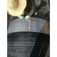 青岛中联供应中空壁缠绕管不锈钢卡箍