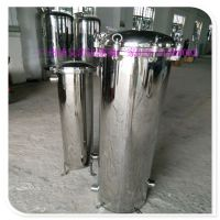 潢川县广旗304不锈钢袋式过滤器 有效去山水河水等水体中的杂质泥沙水藻