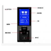 新品 指静脉门禁考勤机 4.3寸电容触摸屏 门禁一体机 带刷卡