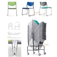 供应众晟家具布艺多功能洽谈会客学生阅览椅子