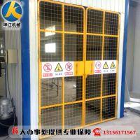 厂家生产导轨式液压升降机仓库电动升降平台货运轨道电动货梯