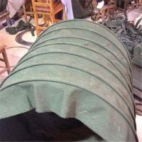 河北易格斯 风机帆布伸缩软连接 设计定做