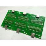 USB3.1 TYPE-C母座测试板=【两排13P板上焊+两圆孔+带PCB板】
