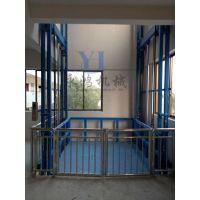 广东珠海家用垂直导轨升降货梯,车间用电动升降台