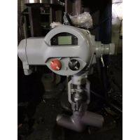J961Y-200 高压自密封电动截止阀 永嘉精拓阀门电站阀门厂