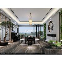 广州别墅装修设计,装修设计案例,新中式风格