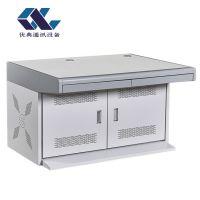 可拼接双联灰白平台 视频监控操作台 指挥中心调度控制台可定制