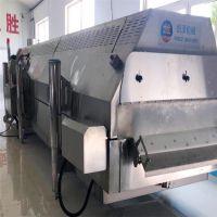 诸城恒泽机械隧道式速冻机采用304不锈钢材质质量保证
