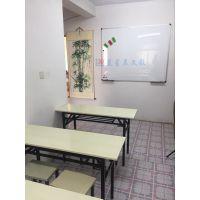 深圳挂式书写白板L湛江实木框树脂白板C多尺寸可定制
