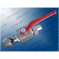 Q21N不锈钢天然气手动高压球阀