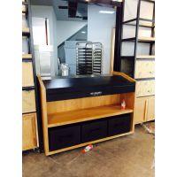 杭州惠利展柜厂专业设计面包连锁蛋糕连锁店展示柜