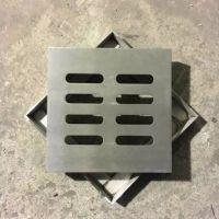 耀恒 不锈钢方形井盖加强筋 方形检查井盖尺寸