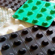 宿迁;江阴;楼顶种植绿化滤水板,车库顶板聚乙烯凹凸排水垫片