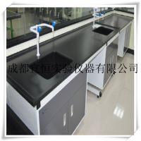 实验台生产厂家 成都宜恒钢木边台定做