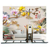 hz-2050 3d墙绘机壁纸打印机器墙体广告彩绘自动绘图设备打印 广告设计备
