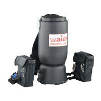 肩背式电瓶吸尘器小型便携式吸尘器窄狭走道客房用吸尘器威德尔WD-6L