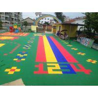 广西来宾悬浮运动拼装地板包工包料幼儿园地板价格优惠