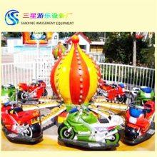 小型儿童游乐设备摩托竞赛三星游乐设备厂家免费加盟