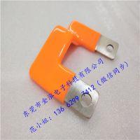 金泓浸塑铜箔导电带/铜排软连接规格