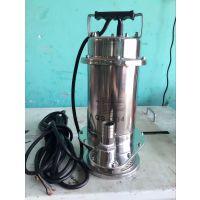 家用不锈钢潜水泵32QDX3-12-0.37厂家直销 便携式手提耐腐蚀排污泵