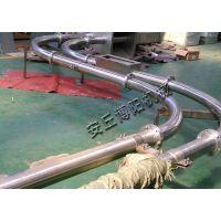 复合肥管链输送机,山东管链机博阳制造