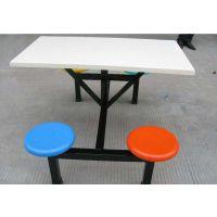 顺德八人短条凳餐桌 食堂专用玻璃钢餐桌椅 康腾桌子安装图