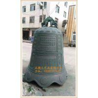 浙江大型铜钟生产厂家 温州正圆定做寺庙铜钟公司