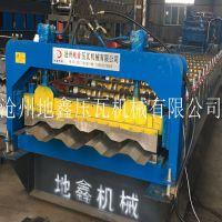 地鑫生产销售车厢板成型设备 全自动集装箱板压瓦机 终身维护