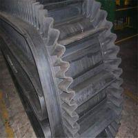 矿用耐高温裙边输送带,耐磨挡边传送带,橡胶输送带厂家